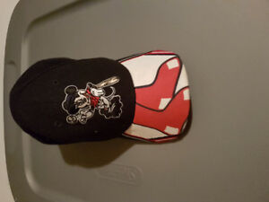 Mickey red Sox hat