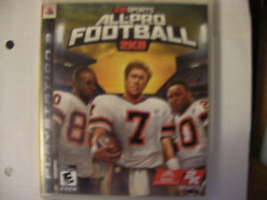 PS3 Game___ All Pro Football_ $10 OBO London Ontario image 2
