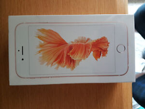 iPhone 6s 32gb rose gold **new In sealed box never used**