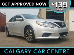 2016 Nissan Altima $139B/W SV w/Backup Cam, Sunroof, BlueTooth.