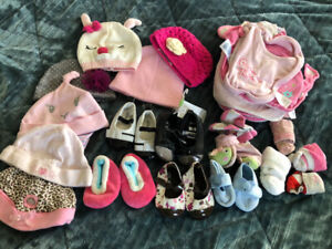 60 + items for baby girls