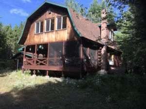 Log Cabin For Sale 85 Wolf Dr Blackville, NB