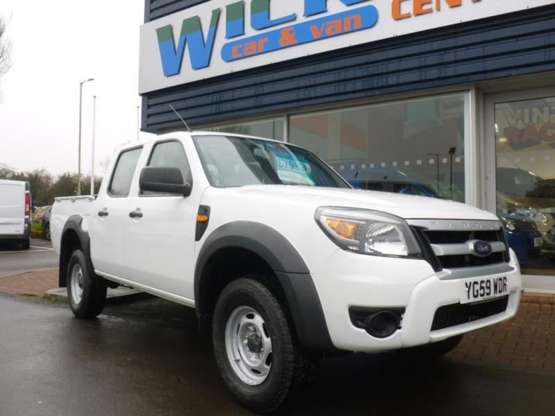 2010 Ford RANGER XL 4X4 D/CAB TDCI Pickup *LOW MILES* Manual Pick-Up