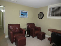 Garrison Exc Location 1 Bed Furnished Bsmt Suite Modern New