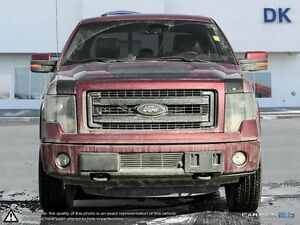 2013 Ford F150 FX4 w/Appearance Pkg, Eco, SWB w/Leather/Roof/Nav