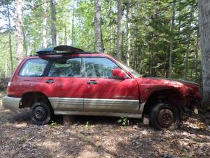 2001 Subaru Forester parts
