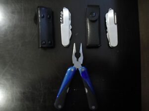 survival knives with case and Multi tool