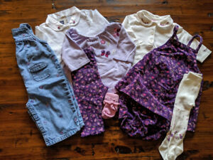 Big Gymboree Baby Girl Lot of 8 pieces 3-6 months