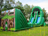 Extreme inflatable Zipline rental