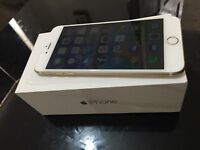 Apple iPhone 6 plus 128gb gold unlock all networks like brand new condition