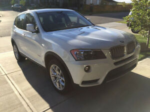 2012 BMW X3 - low km $21,500.00