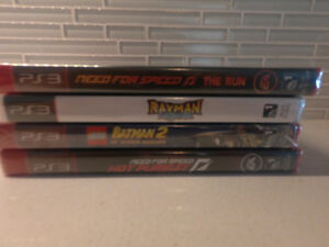 ps3 new: need for speed, lego batman2, rayman legends.