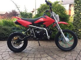 125cc pit bike- very good condition