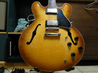 Gibson ES335 in Rare Flamed Honeyburst finish-Cash or Trade