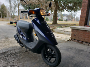 2000 Honda Dio scooter 50cc, low 1977kms! MINT!
