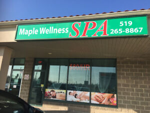 New spa just opening   In Guelph