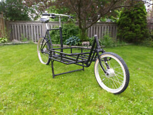 Ultra-Rare Retro Cargo Bike - Bakfiet Alfine Equipped! 56cm