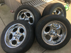 Low Profile Rims & Tires For 135 mm F-150