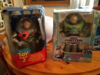 Buzz 1 and 2 in boxes