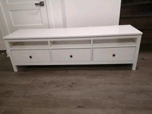 NEGO - GREAT PRICE -  HEMNES TV STAND - WHITE