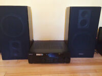 Ampli Kenwood AR-404 Receivers + Enceintes Technics Speakers