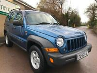 2006 Jeep Cherokee 2.8 TD Sport Station Wagon Auto 4x4 5dr