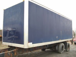 26′ cargo box for truck (not insulated)