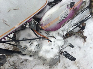 Parting out 1970 Yamaha CS3 200 Twin Two Stroke Regina Regina Area image 3
