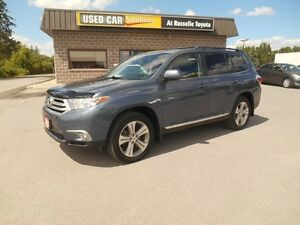 2012 Toyota Highlander Sport 4WD Peterborough Peterborough Area image 2