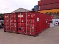 40ft Shipping Container - To Rent