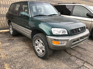 1999 Toyota Rav 4 4 Dr AWD Car Proof Clean Title SAFTIED NO RUST
