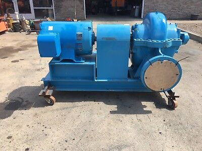 New Paco 125 Hp 10 Pump Never Used 3202 Gpm 100tdh Grundfos New