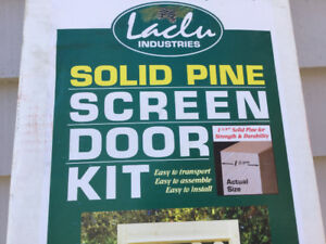 Screen door kit ... still in box ..unused ...
