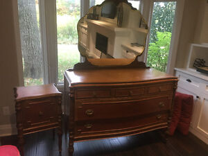 Antique dresser and table London Ontario image 1