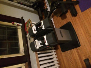 Power block u-90 adjustable Dumbbells 5-90lbs with stand