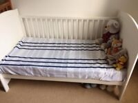 Cot Bed with matress