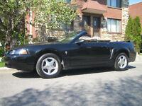 Vente ou echange 2001 Ford Mustang Cabriolet + 2012 Mazda 2
