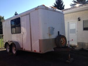Toy Hauler and Winterized Trailer/Camper