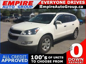 2010 CHEVROLET TRAVERSE LT1 * AWD * 7 PASSENGER * REAR PARKING S