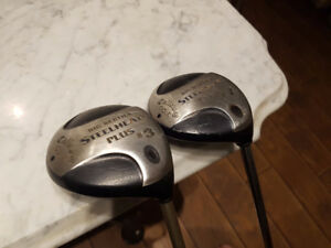 Callaway Big Bertha Steelhead 3 & 7 wood