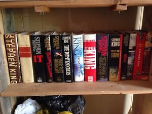 Stephen King books. $5 each. It $60 for all.