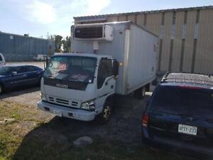 2006 Isuzu Refridgerated Delivery Truck