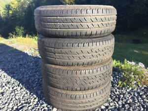 Four Continental 195/65R15 Summer Tires Excellent Tread