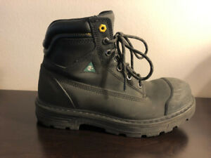 Men's Steel Toe Safety Boots _ WORKLOAD - Size 8