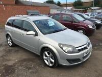 Vauxhall/Opel Astra 1.8i 16v SRi Estate 2005/55 Bargain