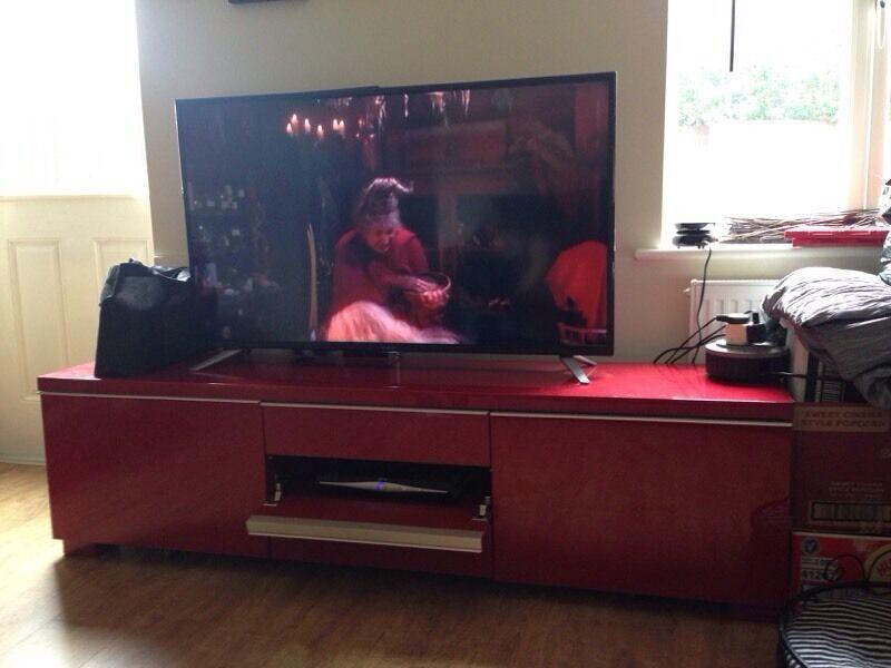 Ikea besta burs tv stand 60 in brownhills west - Meuble tv ikea besta burs ...