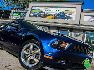'12 Ford Mustang Premium+Leather+BORLA+Shaker! Only $132/Pmts!