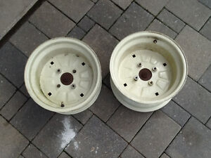 "Trailer or Lawn Tractor Rims_ 23"" like New"