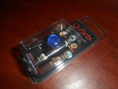 NEW - Q-Parts UFO Knob - BLUE PEARL ON DARK BLACK, KDBU-0862