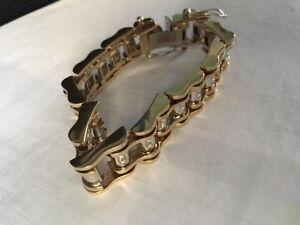 Or  montre bracelet